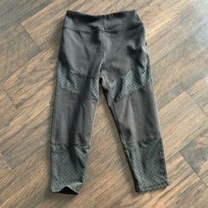 Zella girls 7/8 black leggings